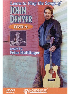 Learn To Play The Songs Of John Denver - DVD 4 DVDs / Videos | Guitar