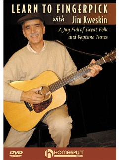 Jim Kweskin: Learn To Fingerpick DVDs / Videos | Guitar