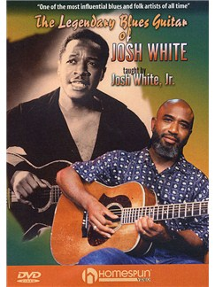 The Legendary Blues Guitar of Josh White DVD DVDs / Videos | Guitar