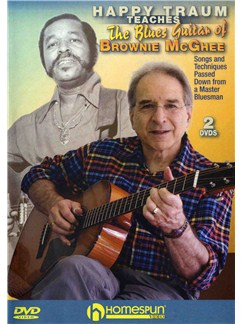 Happy Traum Teaches The Blues Guitar Of Brownie McGhee (2 DVDs) DVDs / Videos | Guitar
