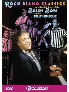 Rock Piano Classics: Learn Nine Hit Songs Of The Beach Boys DVDs / Videos | Piano