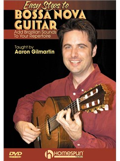 Easy Steps to Bossa Nova Guitar (DVD) DVDs / Videos | Guitare