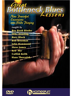 Great Bottleneck Blues Lessons DVDs / Videos | Guitar