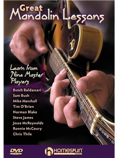 Great Mandolin Lessons: Learn From Nine Master Players DVDs / Videos | Mandolin
