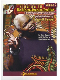 Ysaye M. Barnwell: Singing In The African American Tradition - Volume 2 Books and CDs | Voice