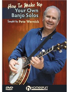 Pete Wernick: Make Up Your Own Banjo Solos - DVD 1 DVDs / Videos | Banjo