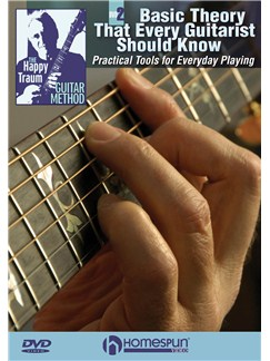 Happy Traum: Basic Theory That Every Guitarist Should Know - DVD 2 DVDs / Videos | Guitar