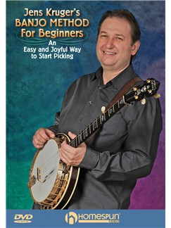 Jens Kruger's Banjo Method For Beginners DVDs / Videos | Banjo