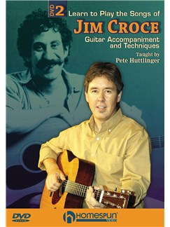 Learn To Play The Songs Of Jim Croce - DVD 2 DVDs / Videos | Guitar