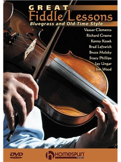 Great Fiddle Lessons - Bluegrass And Old-Time Styles DVDs / Videos | Violin