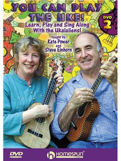 Kate Power/Steve Einhorn: You Can Play The Uke! - DVD Two (Learn, Play And Sing Along With The Ukalaliens) DVDs / Videos | Ukulele