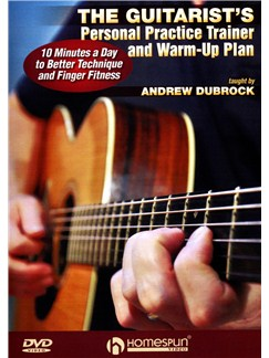 Andrew DuBrock: The Guitarist's Personal Practice Trainer And Warm-Up Plan DVDs / Videos | Guitar