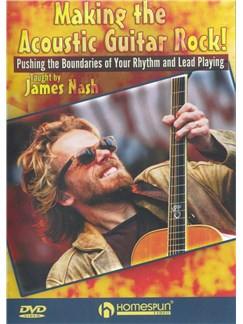 James Nash: Making The Acoustic Guitar Rock DVDs / Videos | Guitar