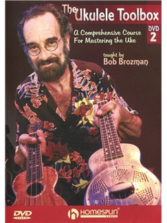 Bob Brozman: The Ukulele Toolbox - DVD 2 DVDs / Videos | Ukulele
