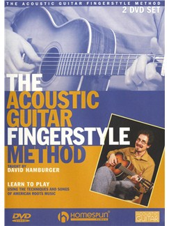 David Hamburger: The Acoustic Guitar Fingerstyle Method DVDs / Videos | Guitar
