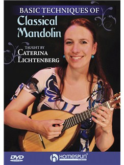 Caterina Lichtenberg: Basic Techniques Of Classical Mandolin DVDs / Videos | Mandolin