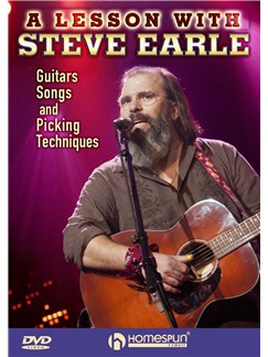 A Lesson With Steve Earle DVDs / Videos | Guitar