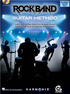Rock Band: Beginning Guitar Pack Books and CDs | Guitar