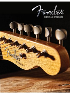Fender: Musician Notebook - Guitarist Manuscript Paper Books | Guitar