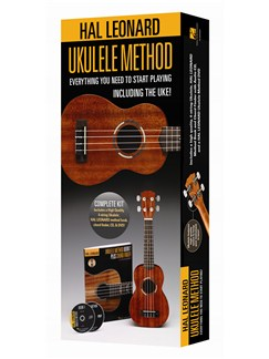 Ukulele Method Starter Pack - (Ukulele/ Book/CD/DVD) Books, CDs, DVDs / Videos and Instruments | Ukulele
