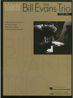 The Bill Evans Trio: Volume 1 (1959-1961) Books | Bass Guitar, Drums, Piano Accompaniment