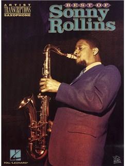 Best Of Sonny Rollins (Saxophone) Books | Saxophone