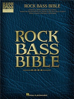 Rock Bass Bible Books | Guitar Tab, Bass Guitar