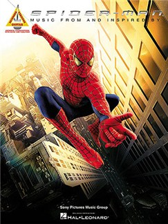 Spider-Man: Music From And Inspired By The Motion Picture - Guitar Recorded Versions Books | Guitar Tab, with chord boxes