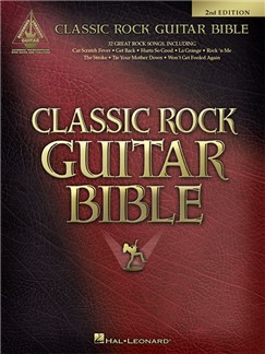 Classic Rock Guitar Bible - Guitar Recorded Versions (Second Edition) Livre | Tablature Guitare, Guitare
