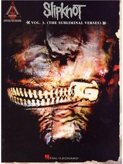 Slipknot: Volume 3 - The Subliminal Verses Books | Guitar Tab (with Chord Symbols)