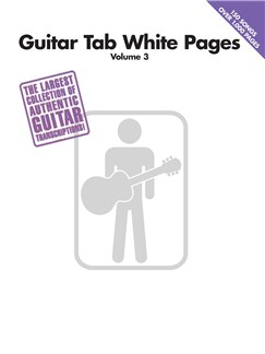 Guitar Tab White Pages Volume 3 Books | Guitar Tab, Guitar