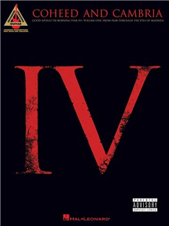 Coheed And Cambria: Good Apollo, I'm Burning Star IV, Volume One: From Fear Through The Eyes of Madness - Guitar Recorded Versions Books | Guitar, Guitar Tab