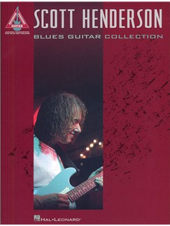Scott Henderson: Blues Guitar Collection (TAB) Livre | Tablature Guitare