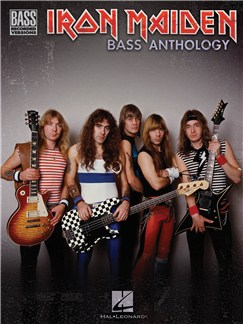 Iron Maiden Bass Anthology Books | Bass Guitar