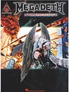 Megadeth: United Abominations Books | Guitar Tab, Guitar