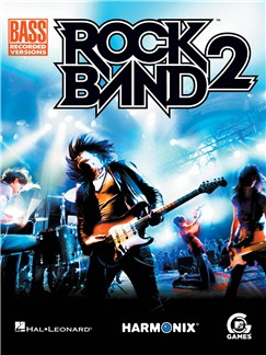 Rock Band 2 - Bass Recorded Versions Books | Bass Guitar Tab