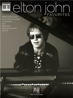 Elton John: Favourites Books | Piano, Vocal & Guitar (with Chord Symbols)