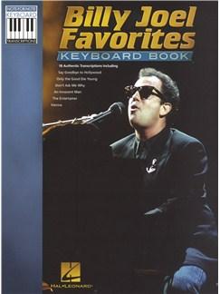 Billy Joel: Favorites - Keyboard Book Books | Keyboard, Voice