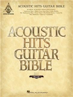 Acoustic Hits Guitar Bible Books | Guitar Tab, Guitar