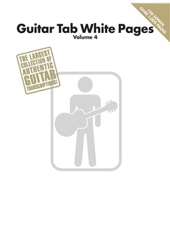 Guitar Tab White Pages: Volume 4 Books | Guitar, Guitar Tab