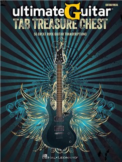 Ultimate Guitar Tab Treasure Chest Livre | Tablature Guitare, Guitare