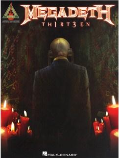 Megadeth: TH1RT3EN Books   Guitar Tab