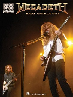 Megadeth Bass Anthology Books | Bass Guitar