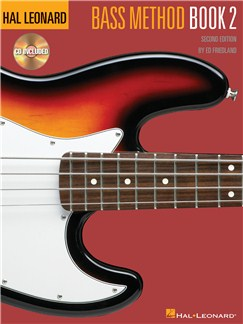 Hal Leonard  Bass Method: Book 2 Second Edition (Book/CD) Books and CDs | Bass Guitar (with Chord Symbols)