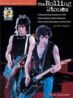 Guitar Signature Licks: The Rolling Stones Books and CDs | Guitar