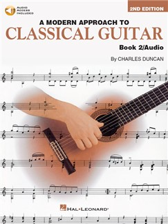 A Modern Approach To Classical Guitar: Book 2 (Book/Online Audio) Books and Digital Audio | Guitar, Classical Guitar