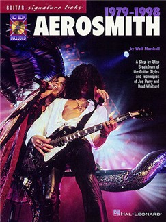 Guitar Signature Licks: Aerosmith 1979-1998 Books and CDs | Guitar, Guitar Tab