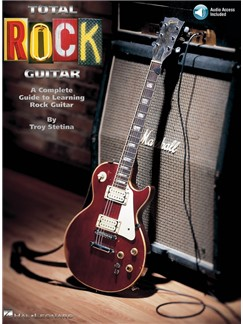 Total Rock Guitar (Book/Online Audio) Books and Digital Audio | Guitar Tab, with chord symbols