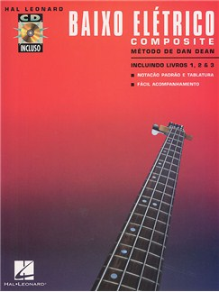 Baixo Eletrico - Composite (Book/3CD) Books and CDs | Bass Guitar