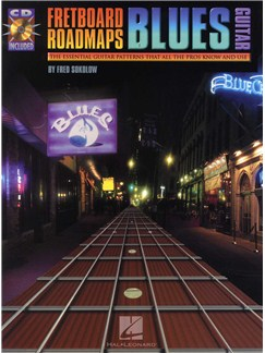 Fred Sokolow: Fretboard Roadmaps - Blues Guitar Books and CDs | Guitar